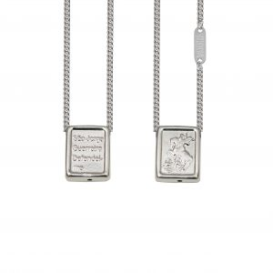 St George Protection Escapulario in 925 Sterling Silver