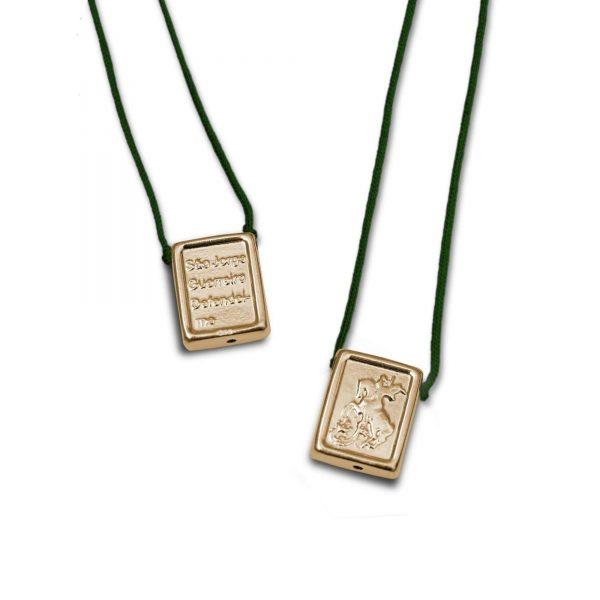 ballestrin-escapulario-st-george-gold-green-min