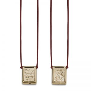 ballestrin-escapulario-st-george-gold-cord-red