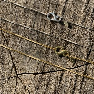 Rope chain with Infinity clasp